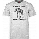 "Powell-Peralta ""Choose"" T-shirt - Gray"