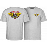 Powell-Peralta Winged Ripper T-shirt - Gray