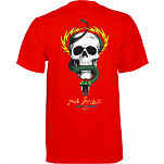 Powell Peralta T-shirt Mike McGill Skull & Snake Red