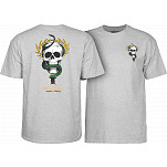 Powell-Peralta Mike McGill Skull & Snake  T-shirt - Gray