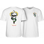 Powell-Peralta Mike McGill Skull & Snake  T-shirt - White