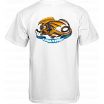 Powell-Peralta Oval Dragon T-shirt - White