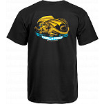 Powell-Peralta Oval Dragon T-shirt - Black