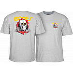 Powell-Peralta Ripper T-shirt - Gray
