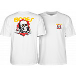 Powell-Peralta Ripper T-shirt - White