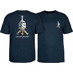 Powell-Peralta Skull & Sword T-shirt - Navy