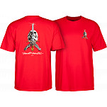 Powell-Peralta Skull & Sword T-shirt - Red
