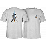 Powell-Peralta Skull & Sword T-shirt - Gray