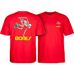Powell-Peralta Skate Skeleton T-shirt - Red