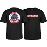 Powell-Peralta Supreme T-shirt - Black