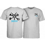 Powell-Peralta Rat Bones T-shirt - Gray