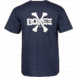 Powell-Peralta Cross Bones T-shirt - Navy
