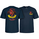 Powell-Peralta Steve Caballero Original Dragon T-shirt - Navy