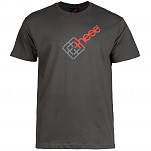 these wheels Bull's Eye T-shirt - Charcoal