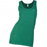 hoopla Woman's Embroidered Tank Top - Evergreen