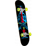 "Powell Peralta Blacklight Skull and Sword Green 7.5"" Complete"