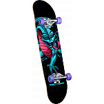 "Powell Peralta Blacklight Caballero Dragon Purple 7.75"" Complete"