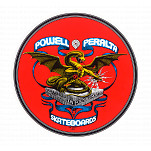 Powell-Peralta Banner Dragon Sticker (Single)