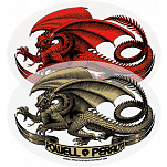 Powell-Peralta Oval Dragon Sticker (Single)