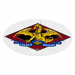 Powell Golden Dragon Sticker (Single)