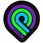 Powell-Peralta Triple P Blacklight Sticker (Single)