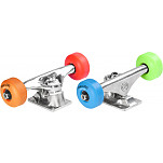 "Mini Logo® Truck Assembly - 8"" Polished - ML Bearings - 52mm 101a Assorted Color Wheels"