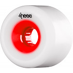 these wheels Free Ride Centerset FRF 727 66mm 78a Red Hub (4 pack)