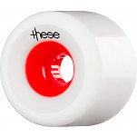 these wheels Free Ride Offset FRF 727 75mm 78a Red Hub (4 pack)
