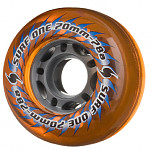 Surf One 5 Star 70mm 78a - Amber (4 pack)