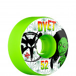 BONES WHEELS STF Pro Dyet Rasta Green 52mm 4pk