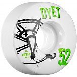BONES WHEELS STF Pro Dyet Numbers 52mm 4pk