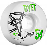 BONES WHEELS STF Pro Dyet Numbers 54mm 4pk
