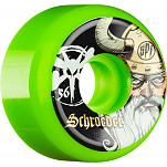 BONES WHEELS SPF Pro Schroeder Odin Green 56mm 4pk