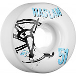 BONES WHEELS STF Pro Haslam Numbers 51mm 4pk
