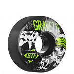 BONES WHEELS STF Pro Gravette Hostage 52mm - Black (4 pack)