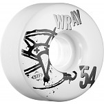 BONES WHEELS STF Pro Wray Numbers 54mm 4pk
