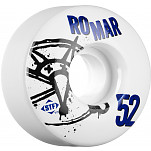 BONES WHEELS STF Pro Romar Numbers 52mm 4pk