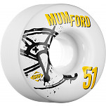 BONES WHEELS STF Pro Mumford Numbers 51mm 4pk
