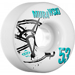BONES WHEELS STF Pro Murawski Numbers 53mm 4pk