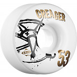 BONES WHEELS STF Pro Creager Numbers 53mm 4pk