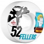 BONES WHEELS STF Pro Fellers Header 52mm 4pk