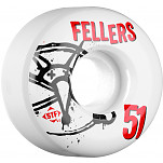 BONES WHEELS STF Pro Fellers Numbers 51mm 4pk
