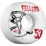 BONES WHEELS STF Pro Fellers Numbers 53mm 4pk
