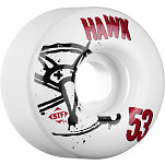 BONES WHEELS STF Pro Tony Hawk Numbers 53mm 4pk