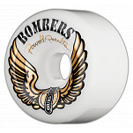 Powell-Peralta Bombers 60mm 85a - White (4 pack)
