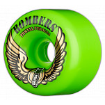 Powell-Peralta Bombers 60mm 85a - Green (4 pack)