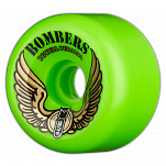 Powell-Peralta Bombers 64mm 85a - Green (4 pack)