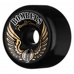 Powell-Peralta Bombers 68mm 85a - Black (4 pack)