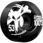 BONES WHEELS 100 Black 53mm 4pk