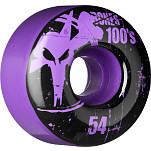 BONES WHEELS 100 Slims 54mm - Purple (4 pack)